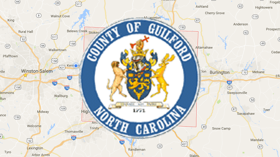 Thumbnail picture for Tax Data – Guilford map