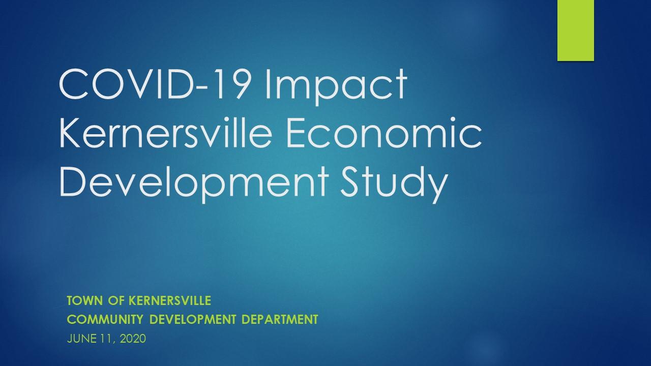 COVID-19 Economic Impact Study