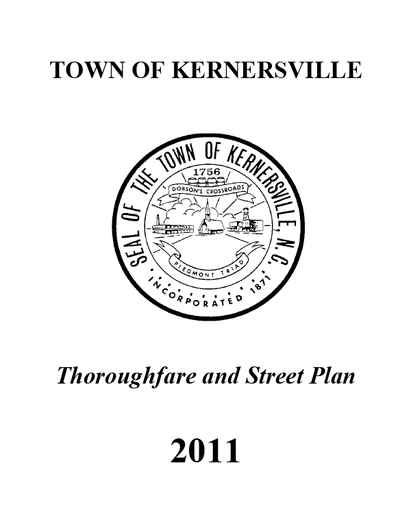 Thoroughfare and Street Plan